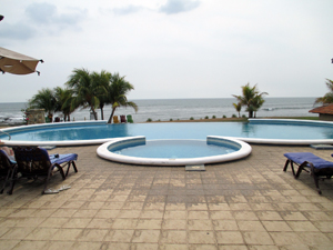 View of the guest pool